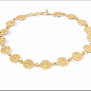 Julie Vos Coin Double-Sided Statement Necklace